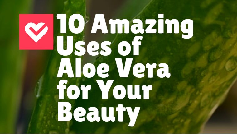 10 Amazing Uses of Aloe Vera for Your Beauty