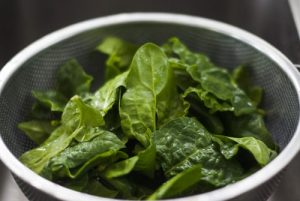 spinach for children height
