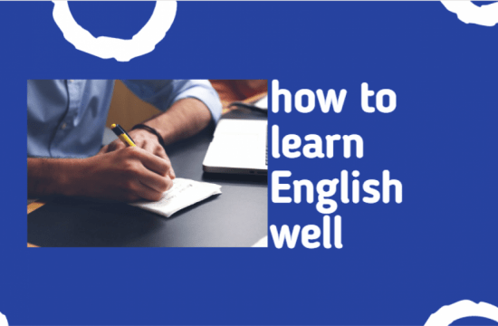 A dialogue about how to learn English well