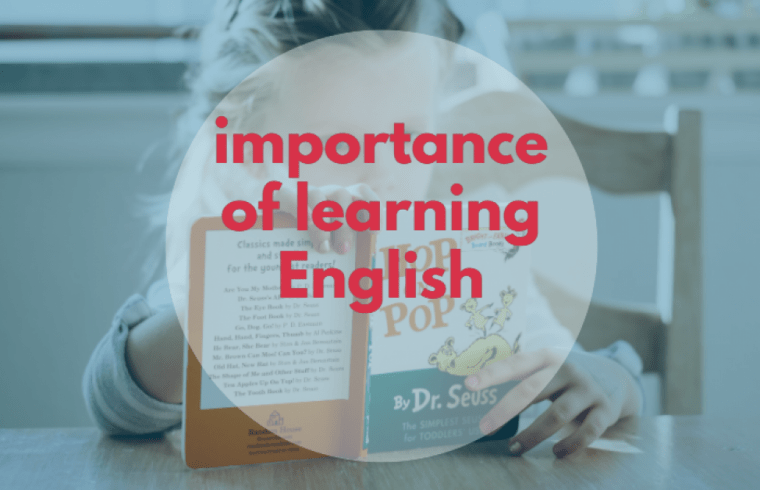 dialogue about the importance of learning English