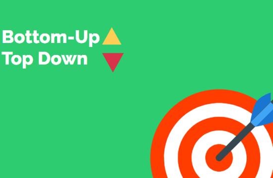 Bottom Up ও Top Down পদ্ধতি দুটি কি এবং কোন প্রযুক্তির?